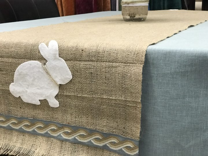 Make an Easter Table Runner | Fabric Depot & Supply