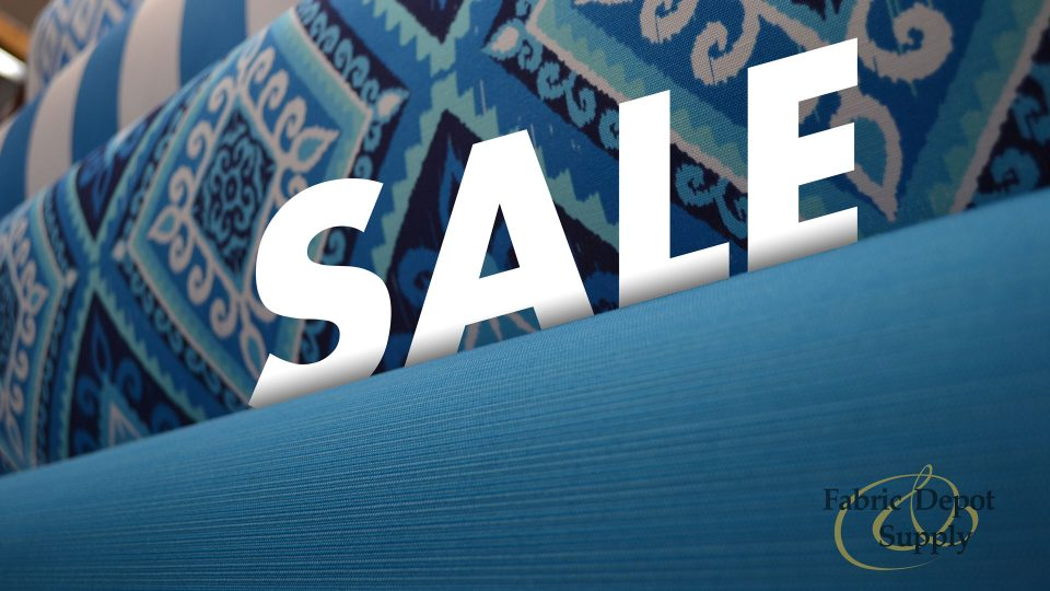 30% Off- September Sale 2018 | Fabric Depot & Supply