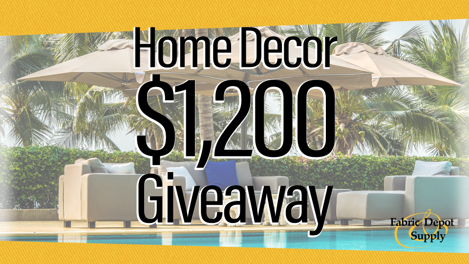 Home Decor $1,200 Giveaway